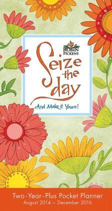 2015 Seize the Day Pocket Planner Calendar