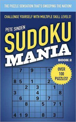 Sudoku Mania Book 2