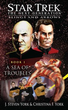 Star Trek The Next Generation: Slings and Arrows #1: A Sea of Troubles