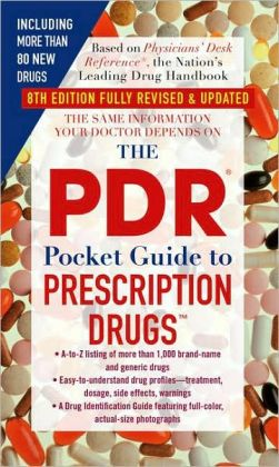 PDR Pocket Guide to Prescription Drugs 8th Edition