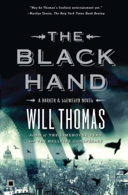 The Black Hand (Barker & Llewelyn Series #5)