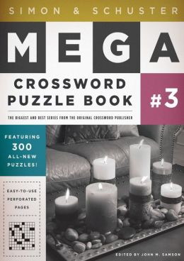 Simon and Schuster Mega Crossword Puzzle Book #3