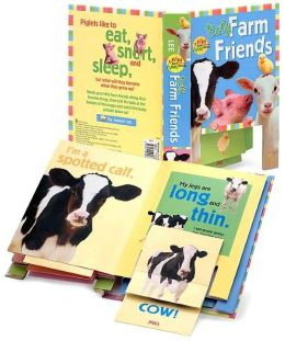 Baby Farm Friends (Flips and Flaps Book Series)