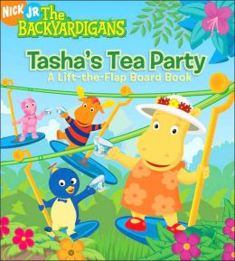 Tasha's Tea Party: A Lift-the-Flap Board Book (The Backyardigans Series)