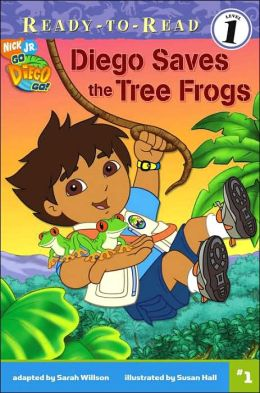 Diego Saves the Tree Frogs (Go, Diego, Go! Ready-to-Read Series)
