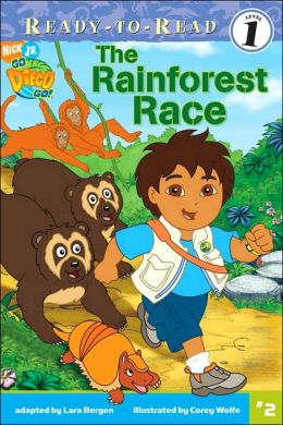 The Rainforest Race (Go, Diego, Go! Ready-to-Read Series)