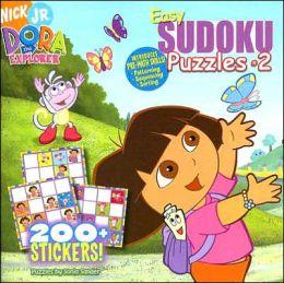 Easy Sudoku Puzzles #2: Dora the Explorer