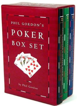 Phil Gordon Poker Boxed Set: Phil Gordon's Little Black Book, Phil Gordon's Little Green Book, Phil Gordon's Little Blue Book