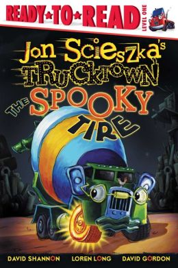 The Spooky Tire (Trucktown Ready-to-Roll Series: Level 1)