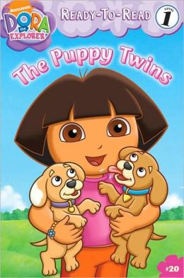 The Puppy Twins (Dora the Explorer Ready-to-Read Series)