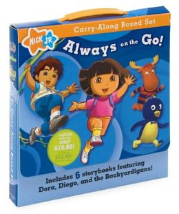 Always on the Go! (Nick Jr. Carry-Along Boxed Set Series)
