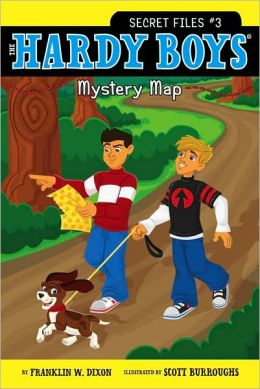 Mystery Map (Hardy Boys Secret Files Series #3)