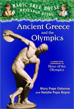 Magic Tree House Fact Tracker #10: Ancient Greece and the Olympics: A Nonfiction Companion to Hour of the Olympics (Turtleback School & Library Binding Edition)