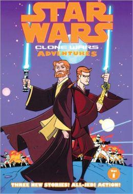 Star Wars Clone Wars Adventures, Volume 1