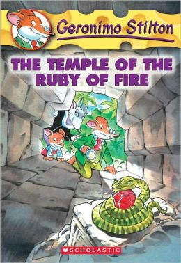 The Temple of the Ruby of Fire (Turtleback School & Library Binding Edition)