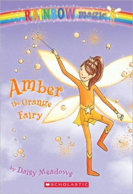 Amber the Orange Fairy (Rainbow Magic Series #2) (Turtleback School & Library Binding Edition)