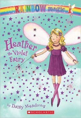 Heather the Violet Fairy (Rainbow Magic Series #7) (Turtleback School & Library Binding Edition)