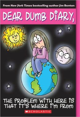 The Problem with Here Is That It's Where I'm From (Dear Dumb Diary Series #6) (Turtleback School & Library Binding Edition)