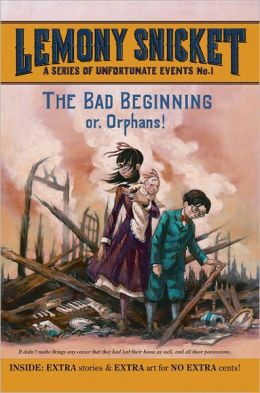 The Bad Beginning: Book the First (A Series of Unfortunate Events) (Turtleback School & Library Binding Edition)