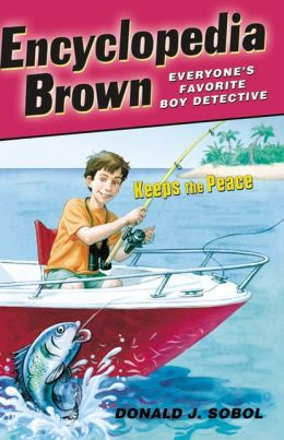 Encyclopedia Brown Keeps the Peace (Encyclopedia Brown Series #6) (Turtleback School & Library Binding Edition)