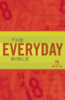 NCV Everyday Study Bible, imitation leather black ...