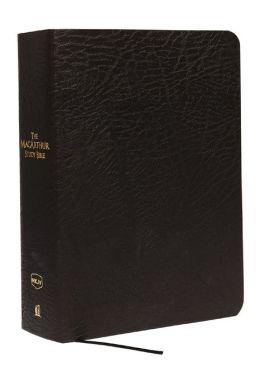 The MacArthur Study Bible Large Print, NKJV Edition