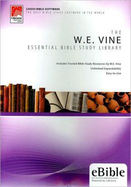 W. E. Vine Essential Bible Study Library