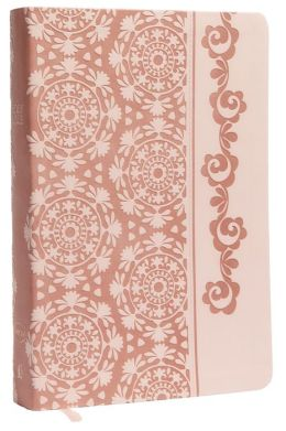 NKJV Devotional Bible For Women, Leathersoft Pink (Breast Cancer Edition)