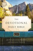 Book Cover Image. Title: Devotional Daily Bible, KJV, Author: Thomas Nelson