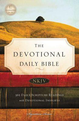 Devotional Daily Bible, NKJV
