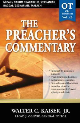 Micah / Nahum / Habakkuk / Zephaniah / Haggai / Zechariah / Malachi: Micah / Nahum / Habakkuk / Zephaniah / Haggai / Zechariah / Malachi