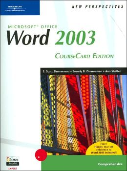 New Perspectives on Microsoft Office Word 2003, Comprehensive, CourseCard Edition