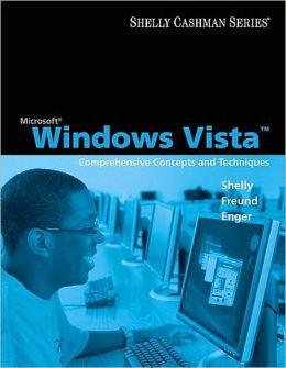 Microsoft Windows Vista: Comprehensive Concepts and Techniques