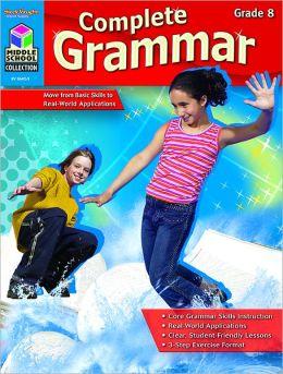 Complete Grammar: Reproducible Grade 8