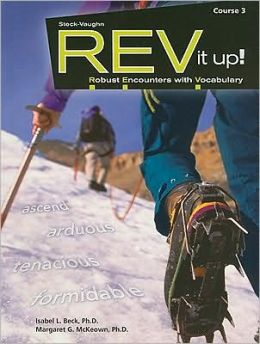 REV It Up!, Course 3: Robust Encounters with Vocabulary