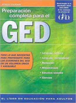 Steck-Vaughn GED, Spanish: Student Edition Preparaci?n completa para el GED