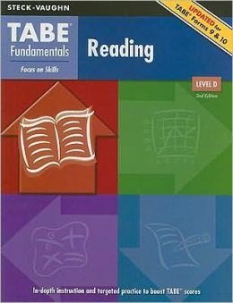 Steck-Vaughn TABE Fundamentals: Student Edition Reading, Level D