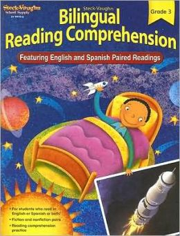 Steck-Vaughn Bilingual Reading Comprehension: Reproducible Grade 3