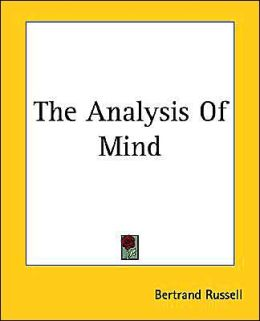 Analysis of Mind