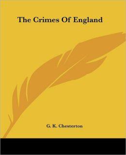 The Crimes of England