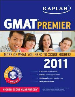 Kaplan GMAT 2011 Premier with CD-ROM