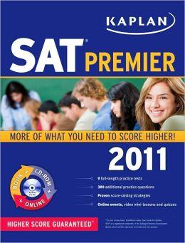 Kaplan SAT 2011 Premier with CD-ROM