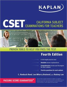 Kaplan CSET: California Subject Examinations for Teachers