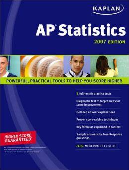 Kaplan AP Statistics 2007