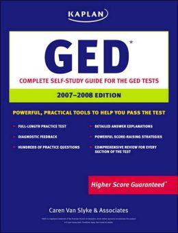 Kaplan GED 2007-2008 Edition