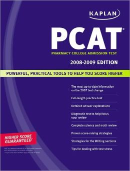 Kaplan PCAT 2008-2009: Pharmacy College Admission Test