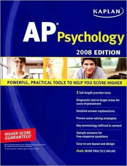 Kaplan AP Psychology, 2008 Edition