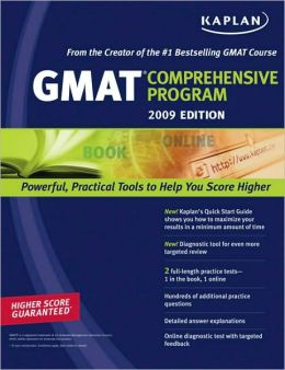 Kaplan GMAT 2009 Comprehensive Program Kaplan