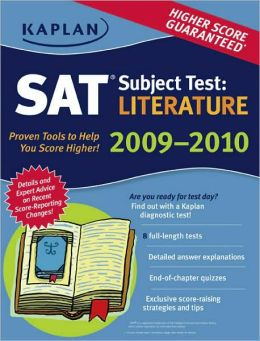 Kaplan SAT Subject Test: Literature 2009-2010 Edition