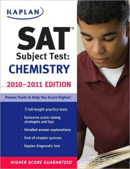 Kaplan SAT Subject Test Chemistry 2010-2011 Edition